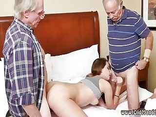 Old fat young and two guys fuck girl Introducing Dukke