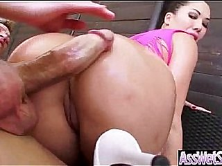 Anal Sex In Front Of Camera With Oiled Big Curvy Ass Girl (london keyes) vid-17