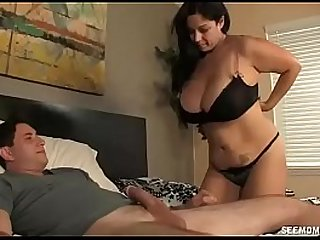 Big Titted Milf Wants To Play With The Young Cock