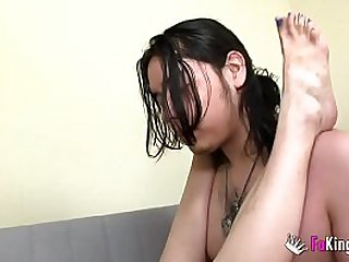 Sex lesson! Ana is going to teach her son's best friend about doing a good fuck