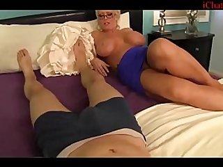 titty fucking my moms best friend - pov