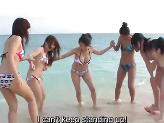 Subtitles  Outdoor orgy with beautiful japanese girls Kyouko Maki