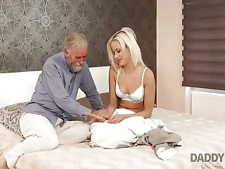 DADDY4K. Amazing dad and young girl sex ended with...