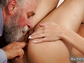 This so bad daddy and old man young anal rough first time