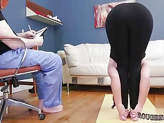 Teen public hd flash Ass-Slave Yoga