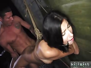 Ultimate surrender rough and hot blonde bondage Teen Jade