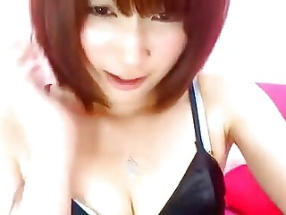 Brunette Japanese Teen on Cam - BasedCams.com