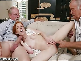 Old man shy girl and old couple orgasm Online Hook-up