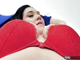Young stepmom with big boobs wants a bad stepsons dick