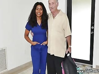 Teen gets pussy licked by old man and whore Glenn