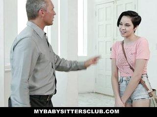 MybabysittersClub - Cute Babysitter (Cadey Lua) Paid In Cum