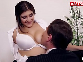 Rough Sex In The Office With Big Tits Secretary - LETSDOEIT.COM