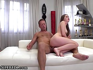 19 Years Old and Fucking Rocco's Big Pornstar Cock