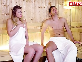 LETSDOEIT - Big Tits Teen Vyvan Hill Got Deep Ass Fucked By Handsome Guy At Spa