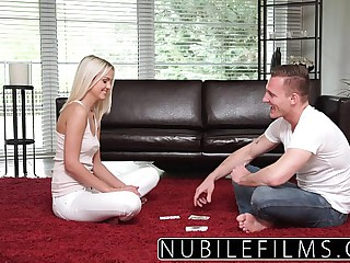 NubileFilms Hard pussy pounding for blonde teen