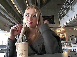 LECHE 69 Sexy Russian Blonde Teen