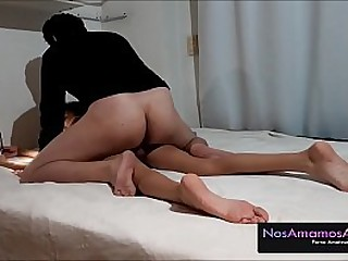 18-year-old Venezuelan is fucked by an old man from the next house asking for a massage