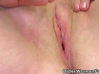 British gilf Claire Knight loves being a naughty grandmother who plays with her blond-haired old cunt (now available in Full HD 1080P). Bonus video: UK grandma Susan.
