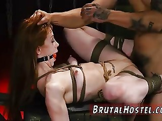 Latex sex slave and milf bondage gangbang Sexy young
